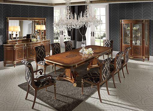 Louis Xiv Dining Room By Creaciones