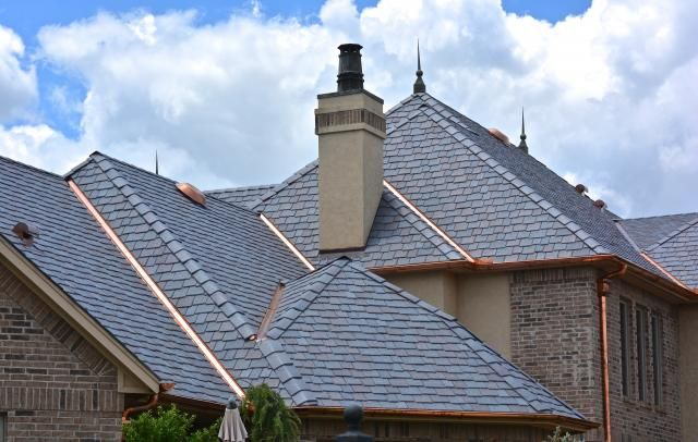 Lovely Natural Slate Shingles or DaVinci Roofscapes Synthetic Slate Shingles Can you tell the difference Let us know what you think Plan - Unique davinci tile Trending