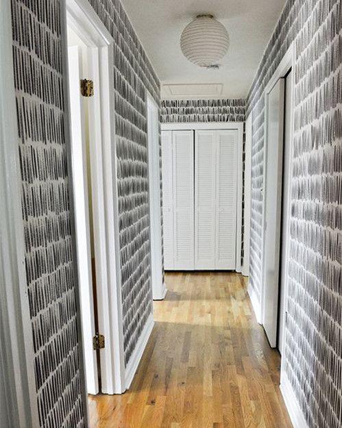 Ideas para decorar pasillos estrechos y que dejen de ser - Papeles pintados para pasillos ...