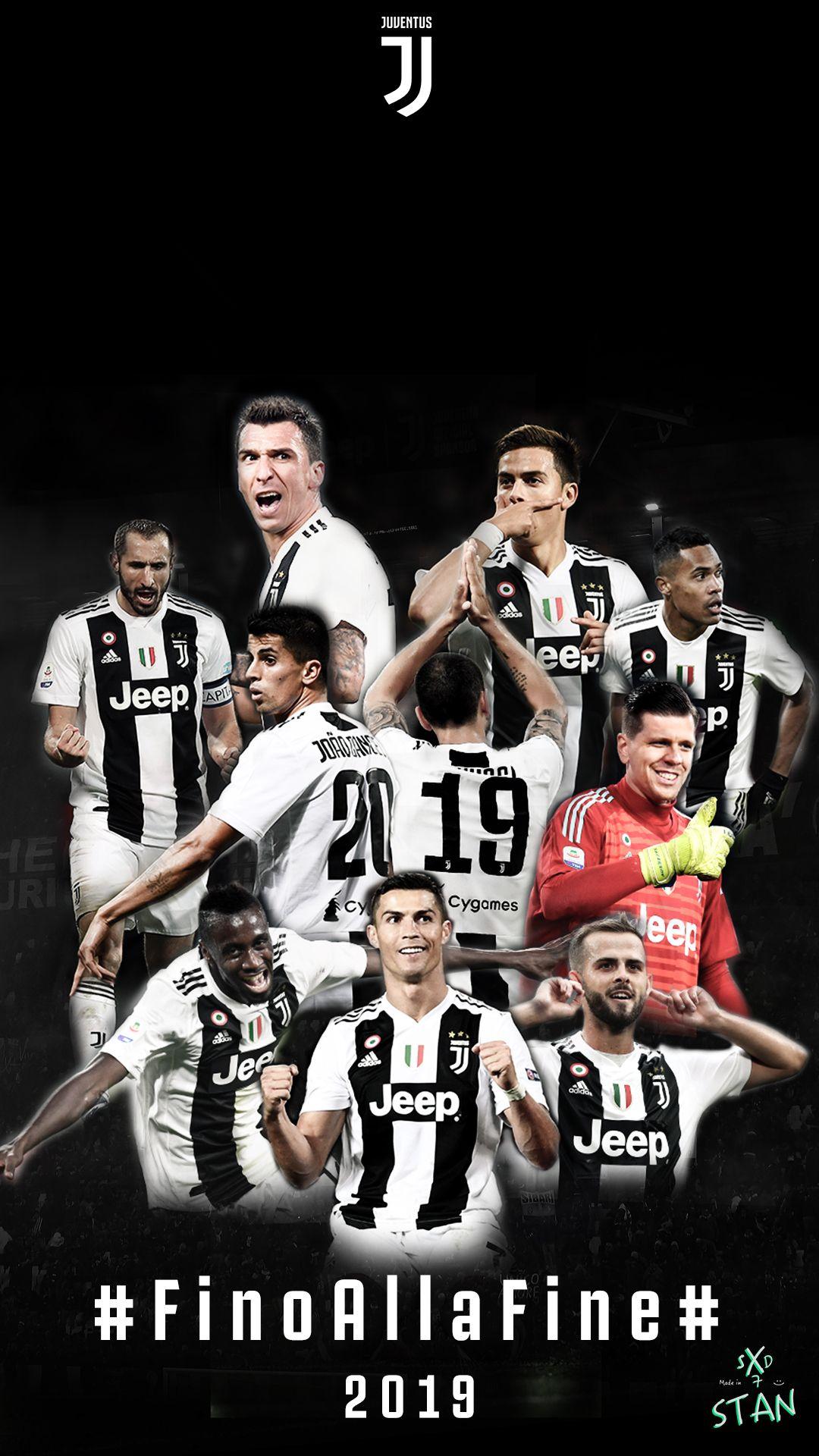 Juventus Football Club Players 2019 Happy New Year Football
