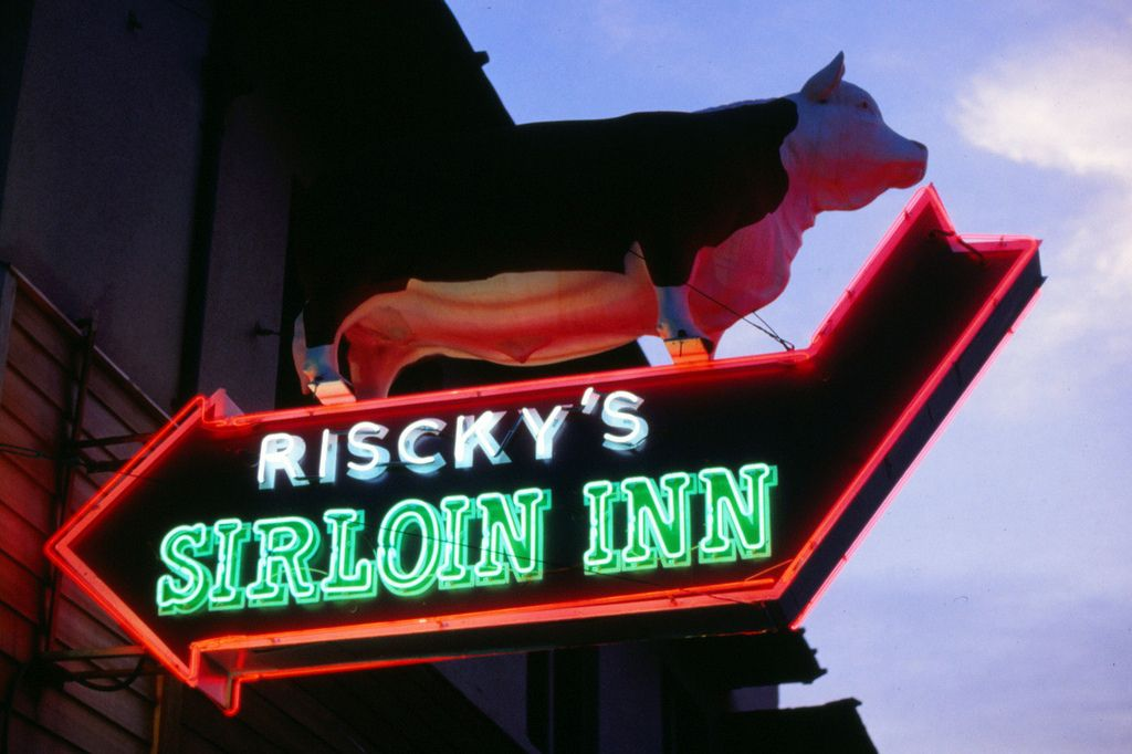 Riscky's Sirloin Inn, Ft. Worth, TX, 1994 | Flickr - Photo Sharing!