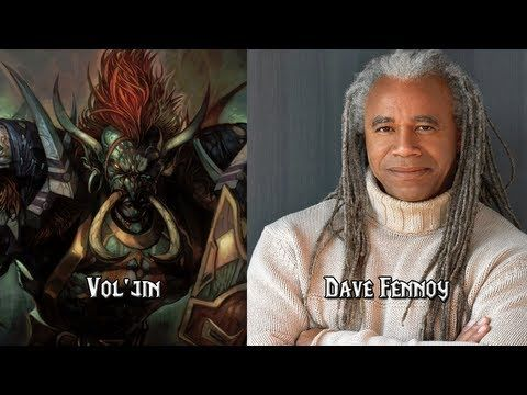 Characters and Voice Actors - World of Warcraft Part 1 ...