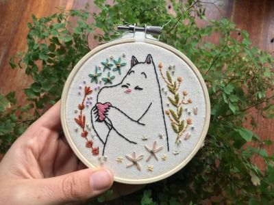 Photo of embroidery | Tumblr