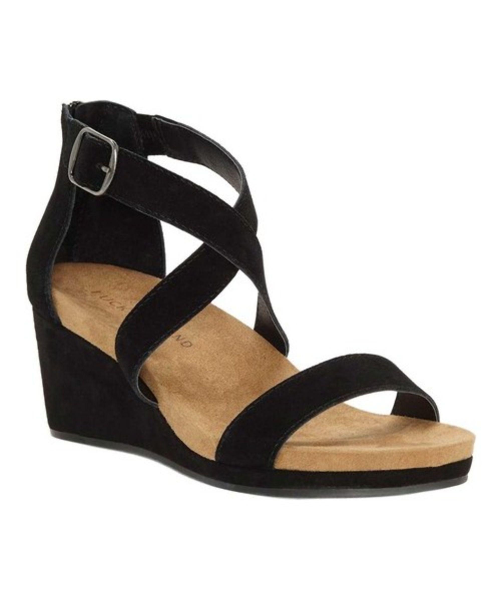 LUCKY BRAND | Lucky Brand Women's Kenadee Wedge Sandal #Shoes #Sandals #LUCKY  BRAND