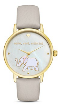 kate spade new york Elephant Metro Watch, 34mm