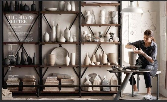 Here S A Dream Pottery Room Minus All The Dust And Clay Pottery Studio Ceramic Studio Ceramic Workshop