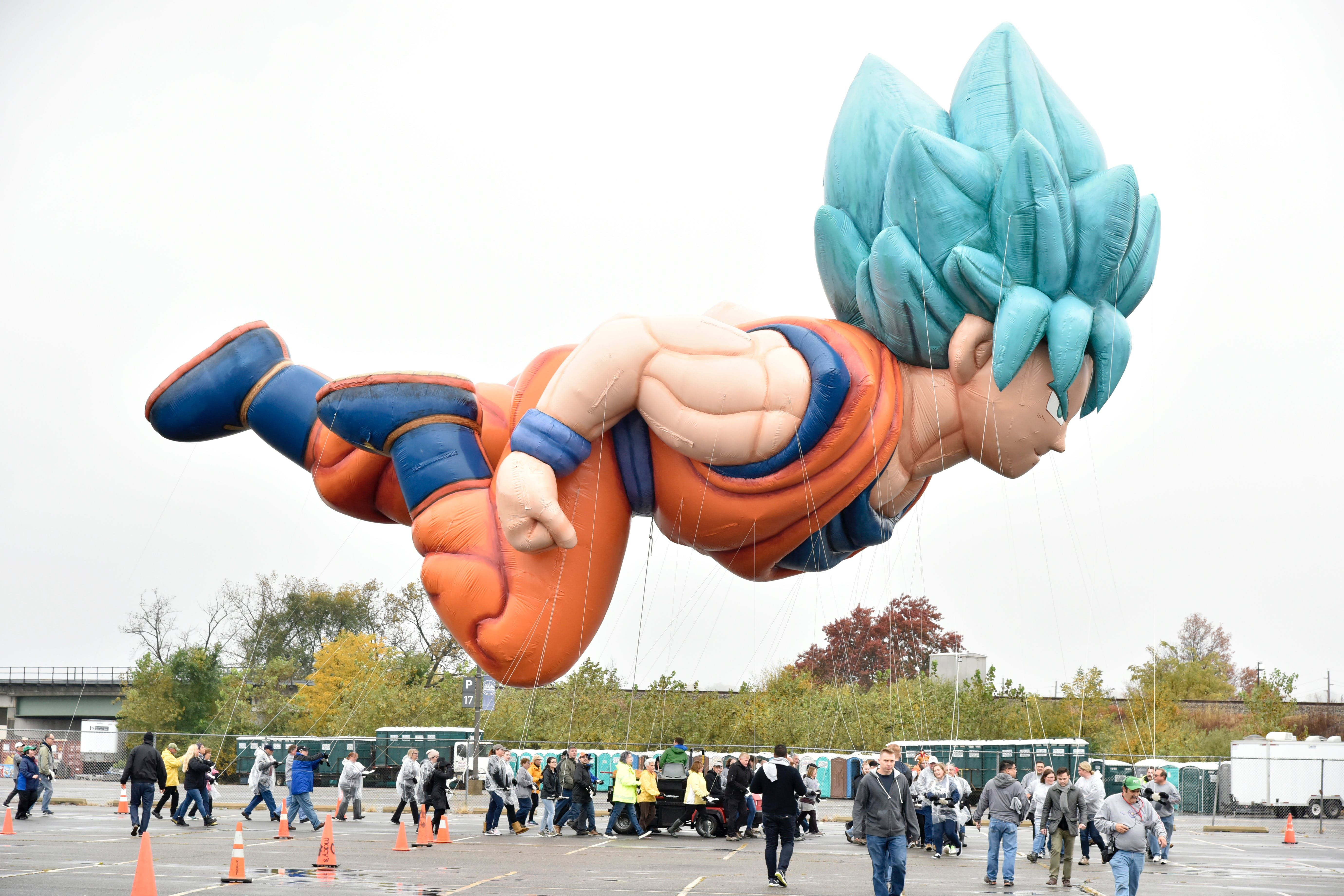 How Goku Became Macy S Unexpected Parade Balloon Despite His Hair Macys Thanksgiving Parade Thanksgiving Parade Thanksgiving Day Parade