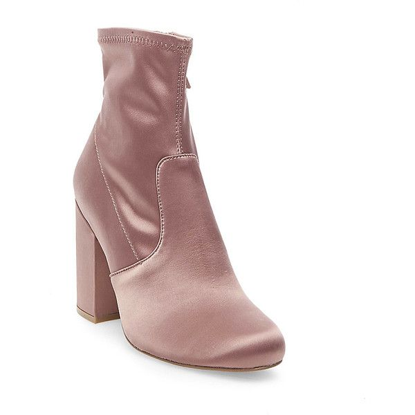 4668c605425 Steve Madden Gaze Booties ($100) ❤ liked on Polyvore featuring ...