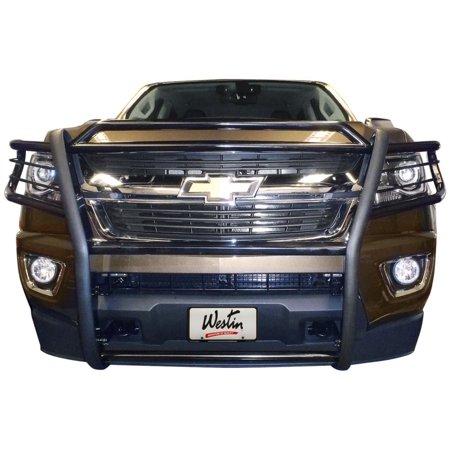 Westin Sportsman 1 Piece Grille Guard Black Walmart Com Chevrolet Colorado New Chevy Colorado Westin