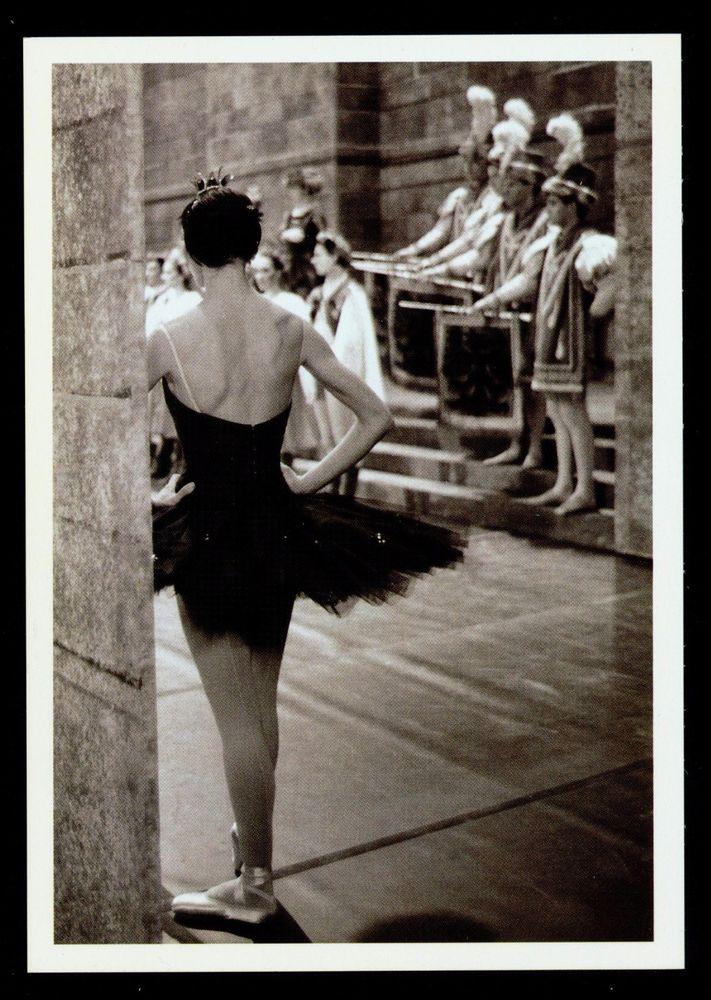 BALLET DE L'OPÉRA NATIONAL PARIS - LE LAC DES CYGNES - EN COULISSES -1996 KARTE   eBay