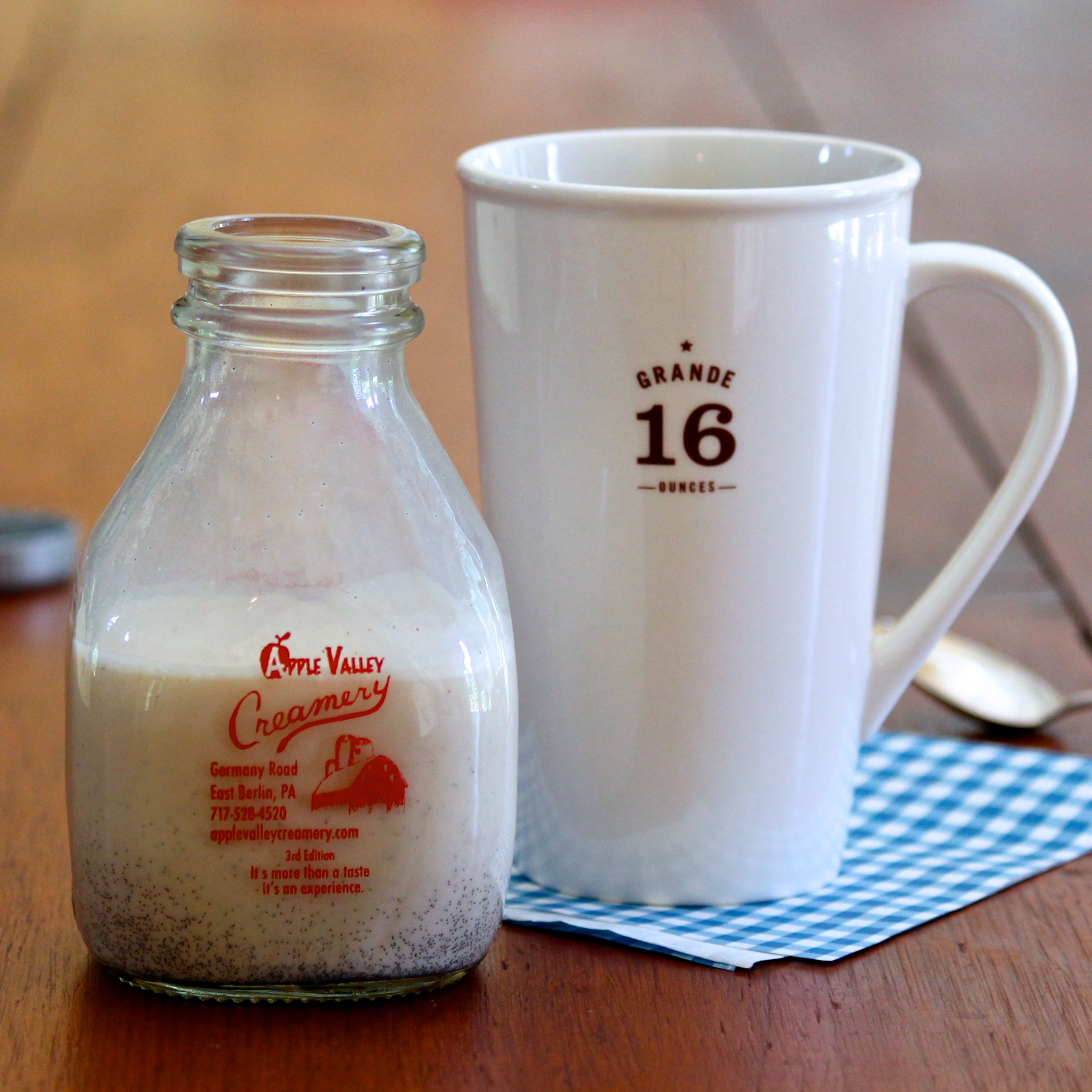 Homemade French Vanilla Coffee Creamer The Fountain