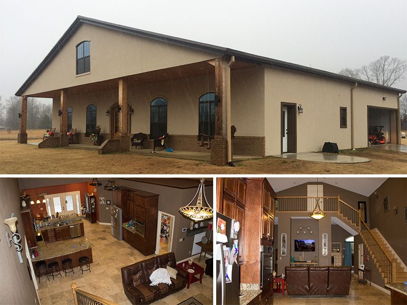 Do You Want An Open Concept Floor Plan Metal Building Homes Are