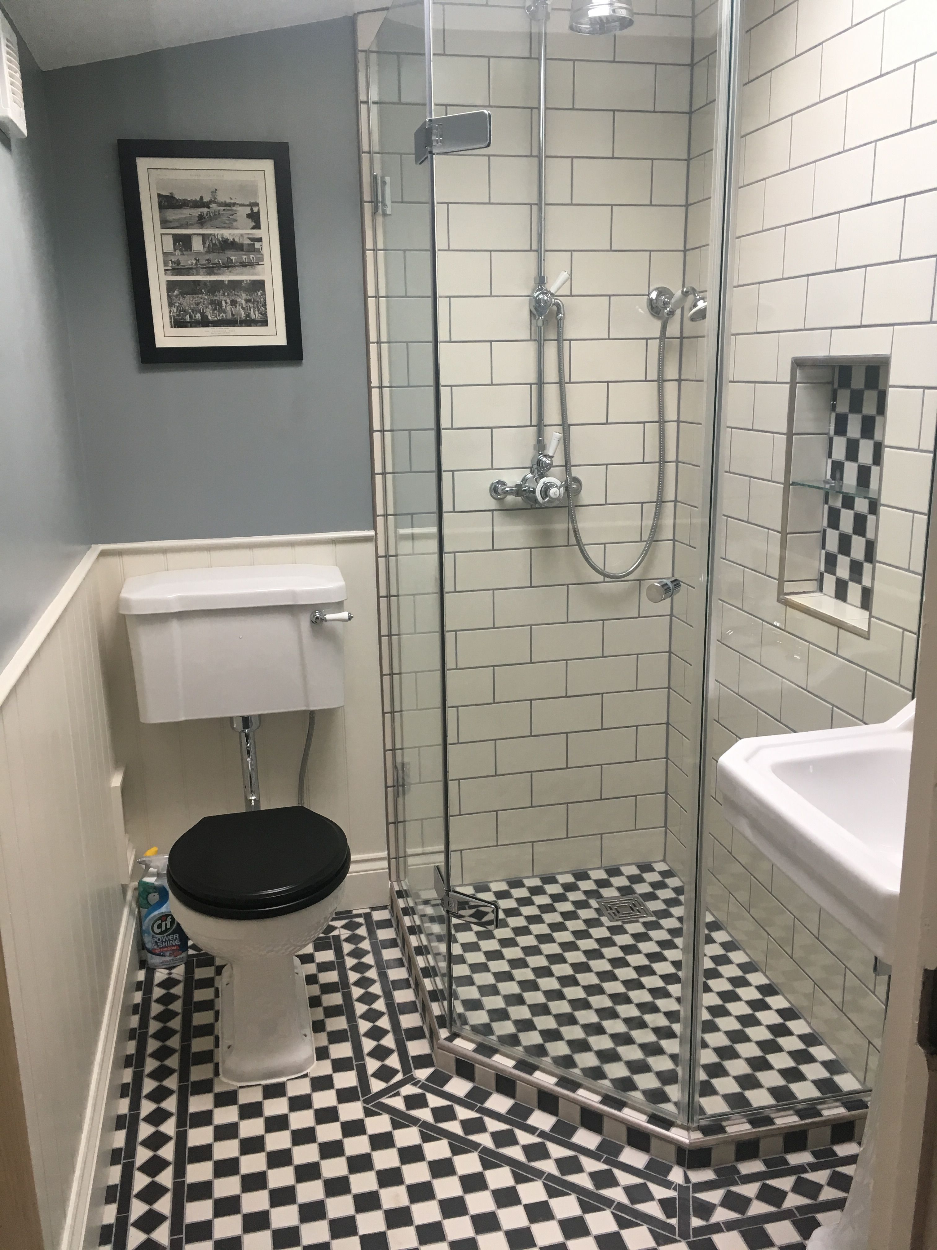 My Finished Bathroom Victorian Floor And Wall Tiles From