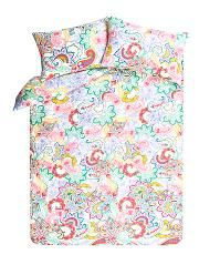 Bright Paisley Duvet Cover