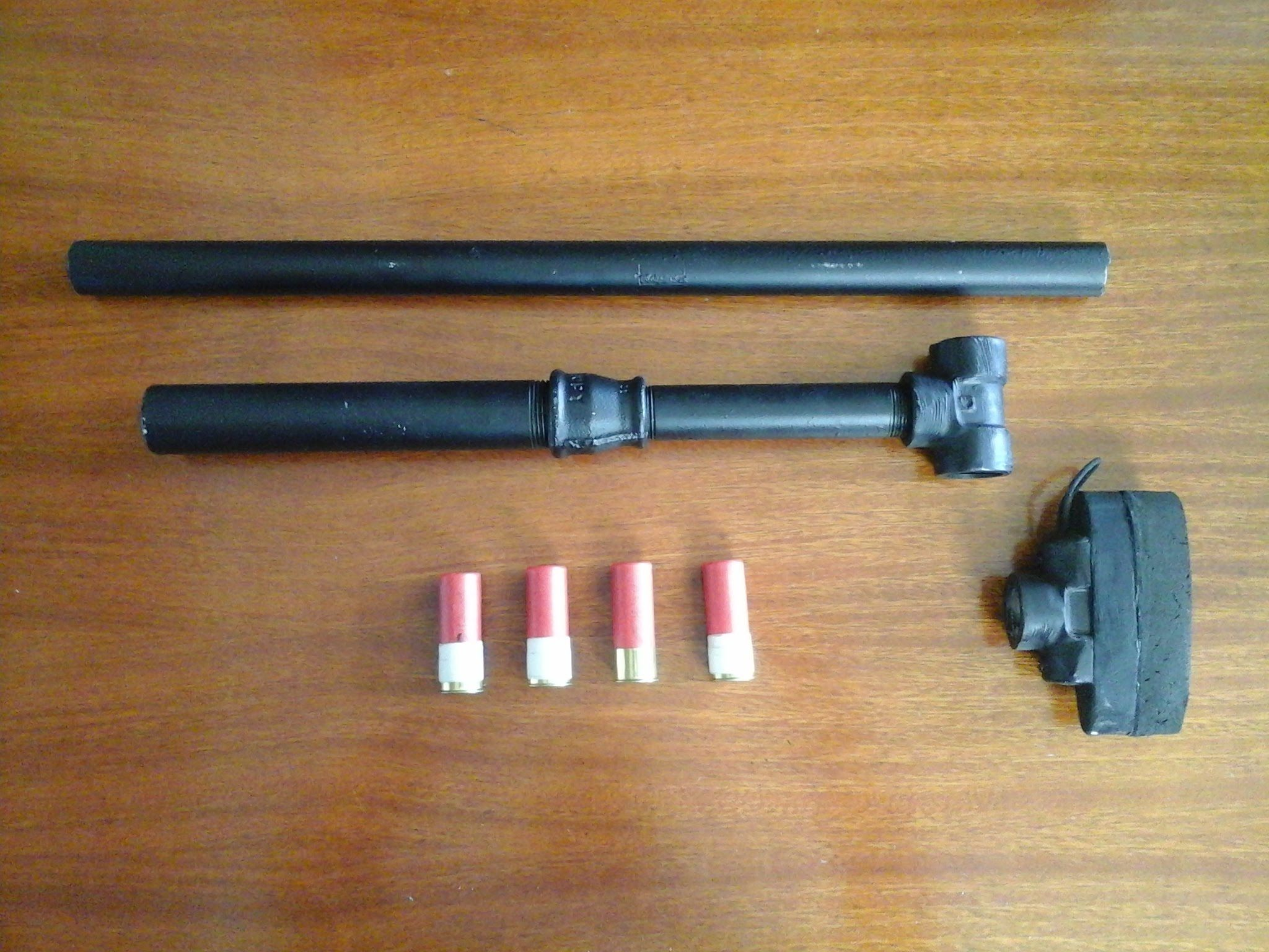 Arma Artesanal Trabuco Cal 12