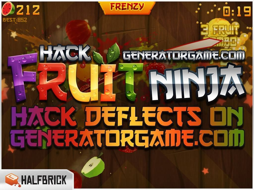 [NEW] FRUIT NINJA HACK ONLINE 2016 WORKS 100% GUARANTEED: www.online.generatorgame.com  Hack Deflects Peachy Times Strawberry Blasts Juice and Starfruit: www.online.generatorgame.com  Unlock All Backgrounds and All Blades. All for Free! Here: www.online.generatorgame.com  Please SHARE this real working online hack guys: www.online.generatorgame.com  HOW TO USE:  1. Go to >>> www.online.generatorgame.com and choose Fruit Ninja image (you will be redirect to Fruit Ninja Generator site)  2…