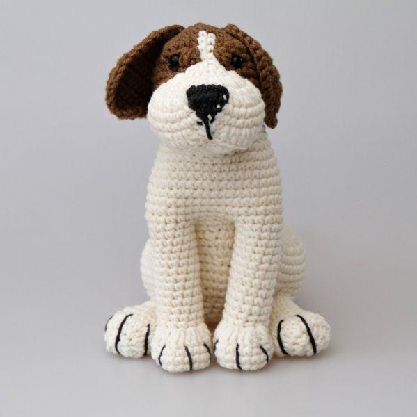 Azor The Beagle Amigurumi Pattern   para que me lo hagan   Pinterest ...