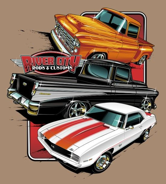 Hot Rod Tee By Bmart333 Autos Antiguos Clasicos Y De