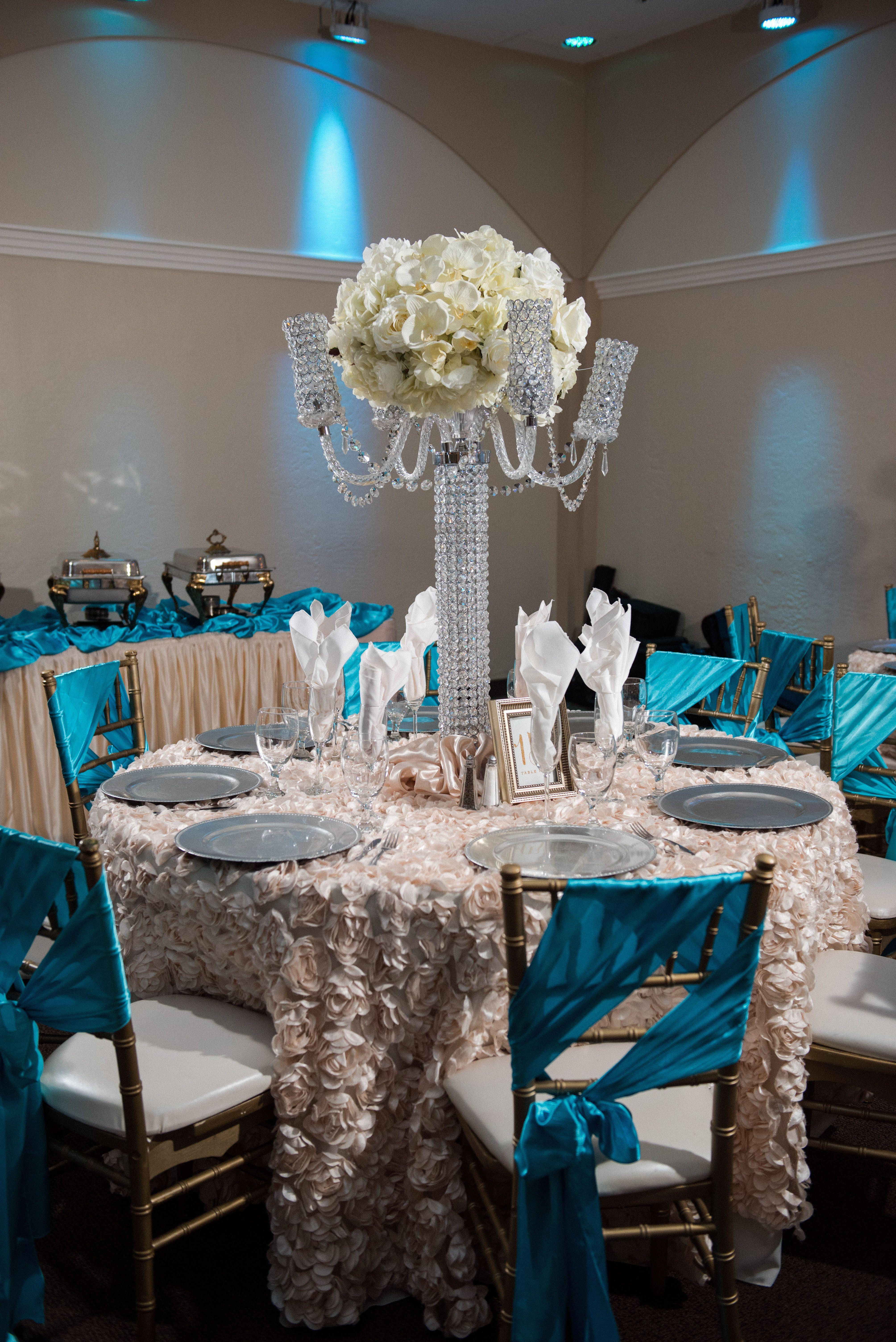 Sister Venue Villa Tuscana Reception Hall **CENTERPIECE