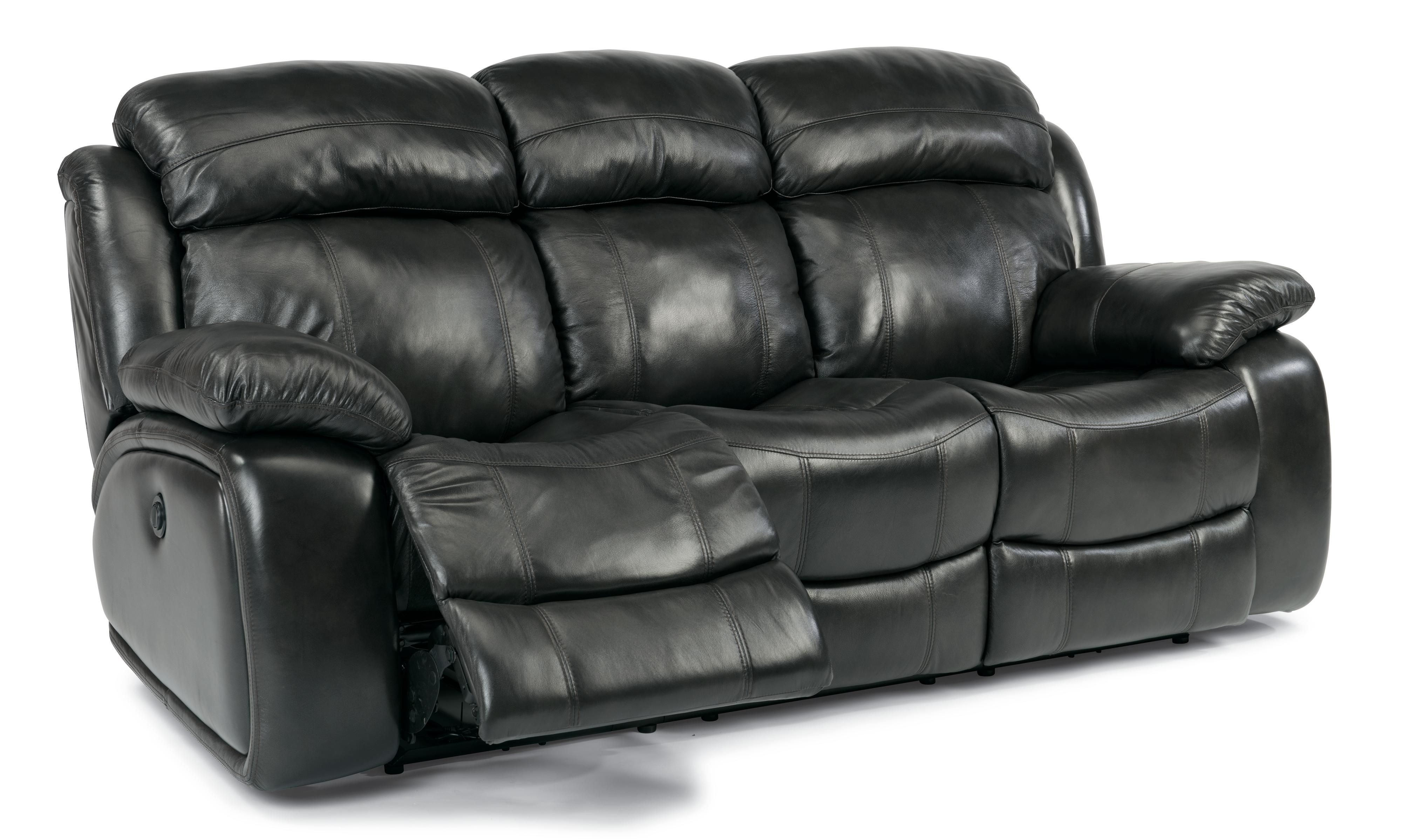 Latitudes o Double Power Reclining Sofa by Flexsteel at Great