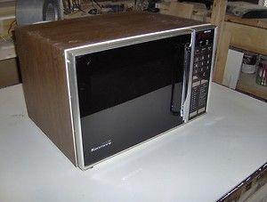 Vintage Sears Kenmore Microwave Nice Condition