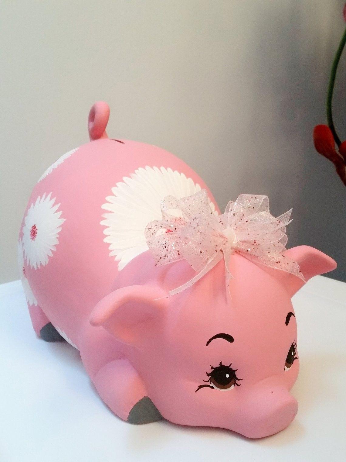 Girls piggy bank