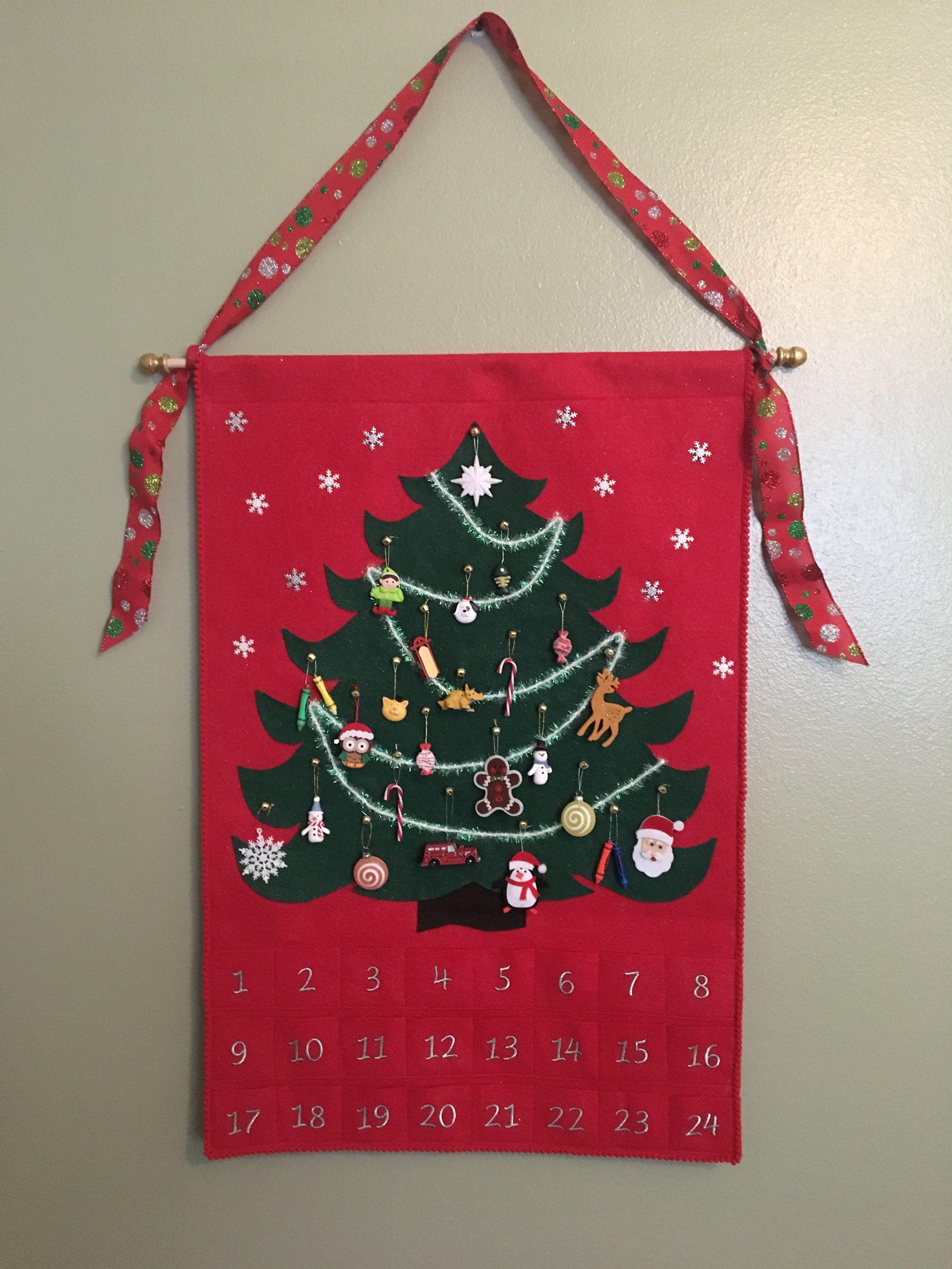 advent calendar 2 i made felt advent calendars for my 3