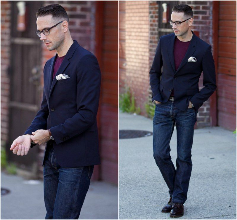 Jeans And Blazer Casual Wedding Outfits For Men 18 Ideas What To Wear As Guest