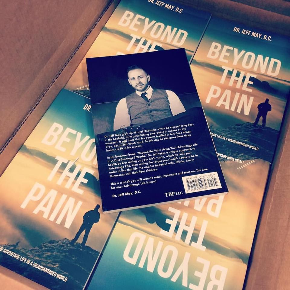 Beyond The Pain: Living Your Advantage Life in A Disadvantaged World by Dr. Jeff May Get your copy today!  #AdvantageLife