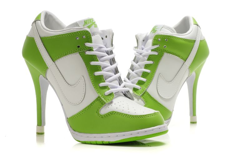 Nike Greenwhite New Never Shoes Online Buy Many Too Heels rwHSqr