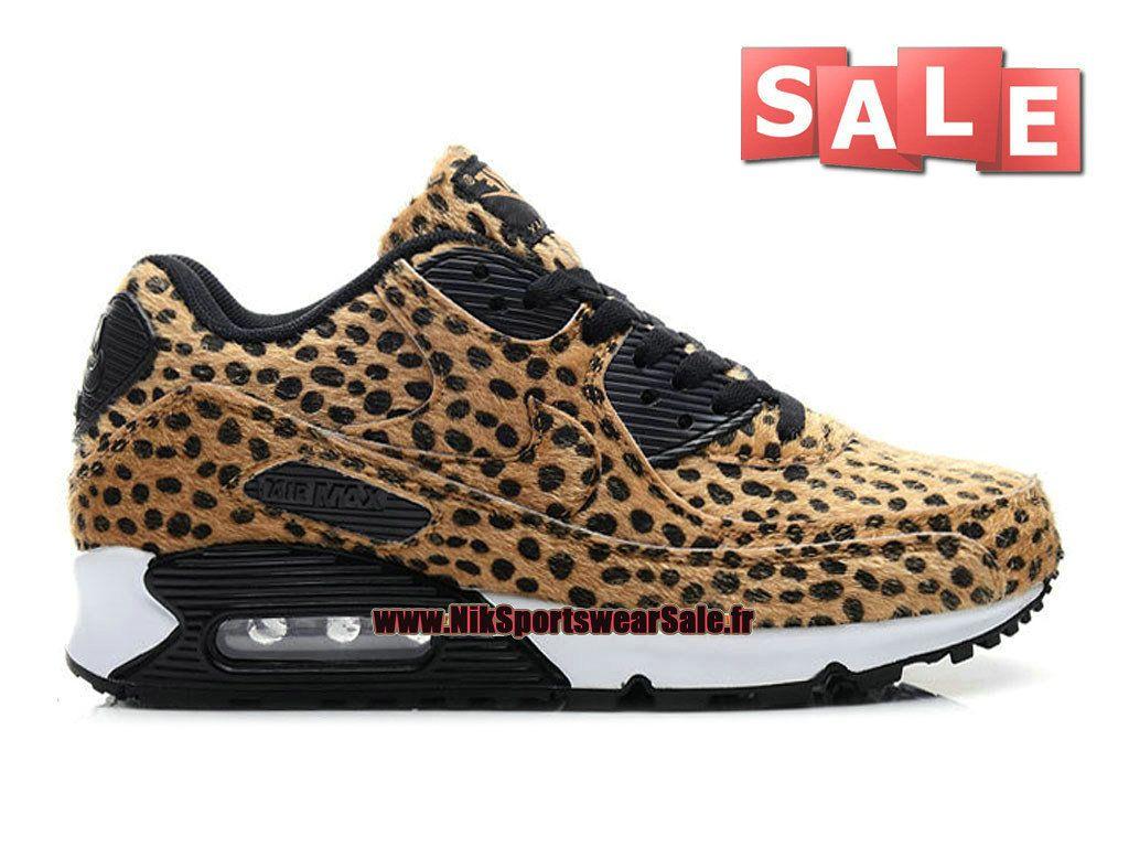 nike air max 90 femme leopard print noir/or