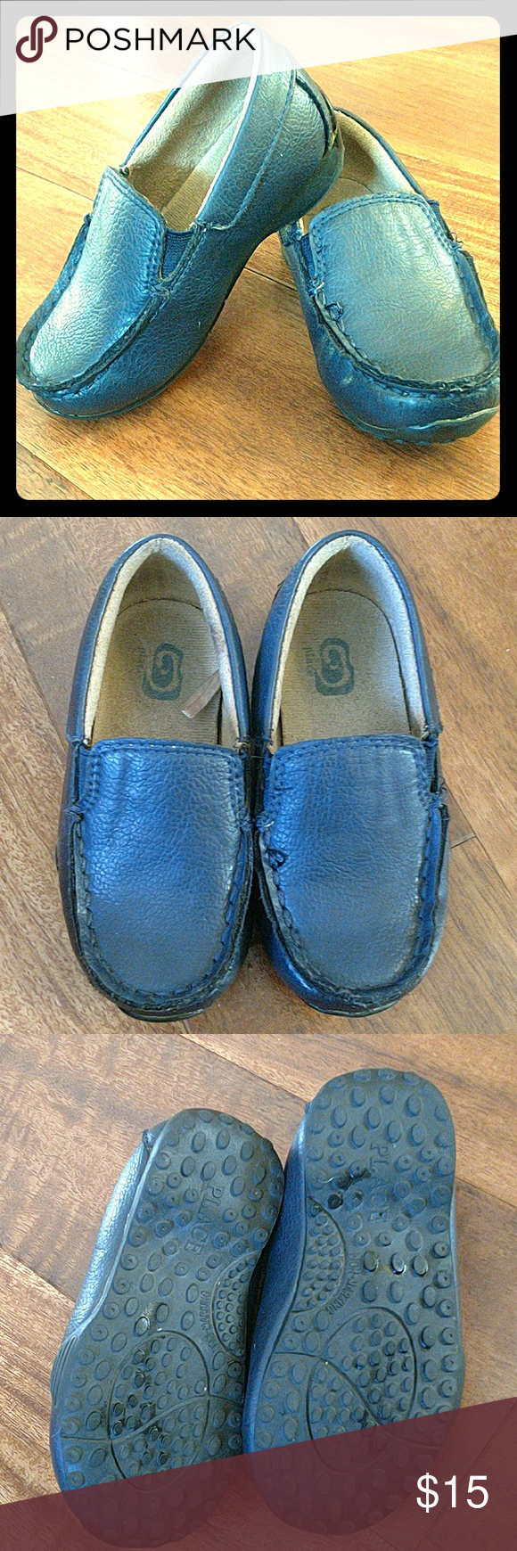 Navy blue dress shoes for wedding  Childrenus Place Loafers  Dress shoes Navy blue and Conditioning
