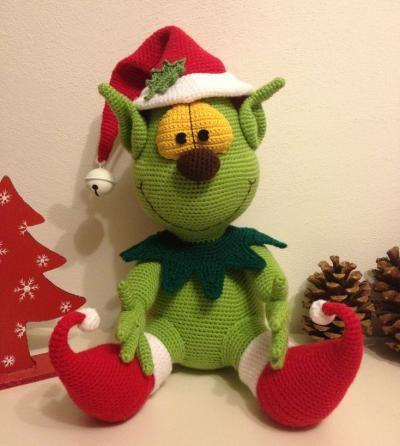 De Grinch | Christmas crochet | Pinterest | Häkeltiere, Amigurumi ...