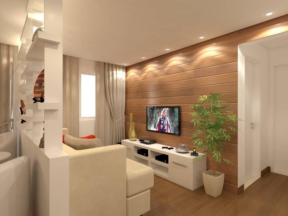 Imágenes De Decoración Y Diseño De Interiores  Small Living Rooms Interesting Interior Design Of A Small Living Room Inspiration Design