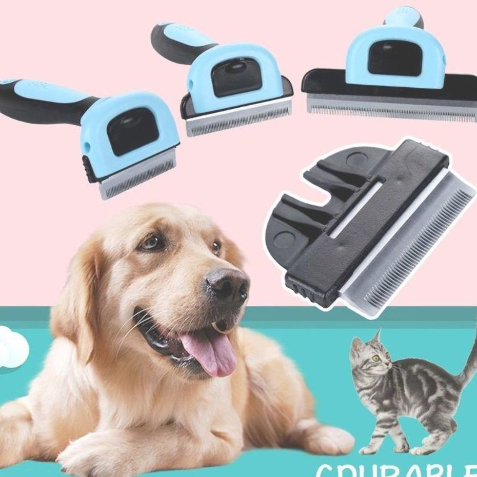 Pet Hair Remover Brush Trimmer Dog Grooming Pets Hair Removal