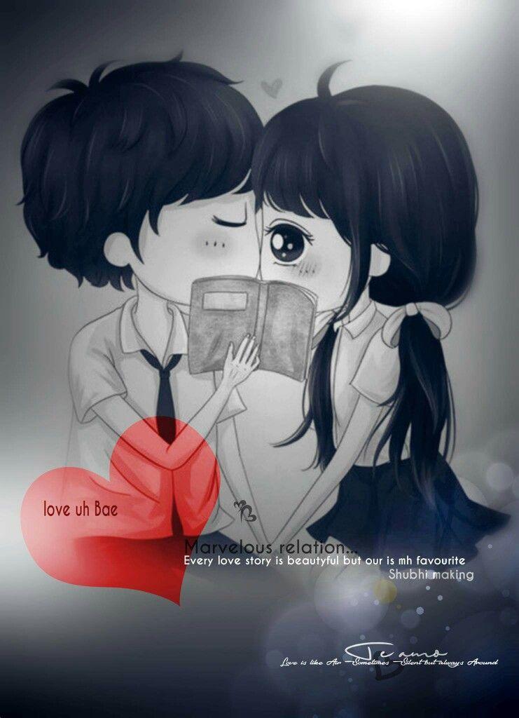 L Oev E Cute Love Cartoons Cute Couple Wallpaper Couple Cartoon