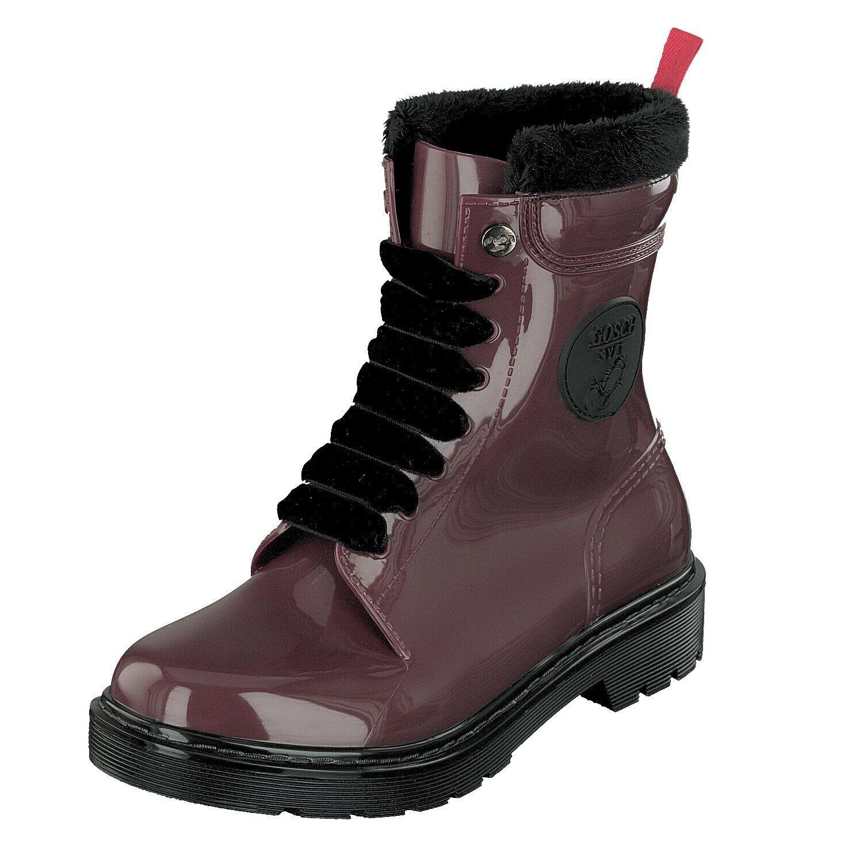 Details Zu Gosch Shoes 71051301 55 Damen Gummi Schuhe Stiefel Boots Rot Wasserfest Neu Boots Shoes Winter Boot