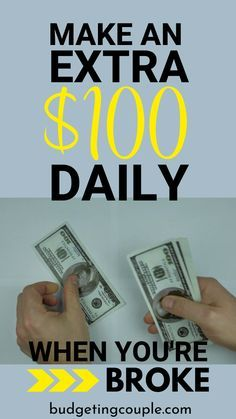 Earn extra money daily...