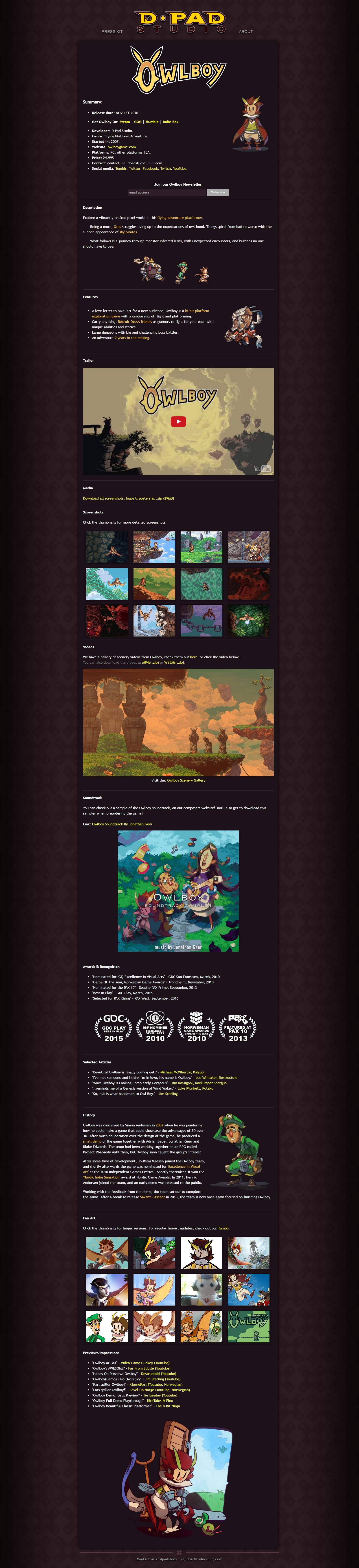 Video Games Sites