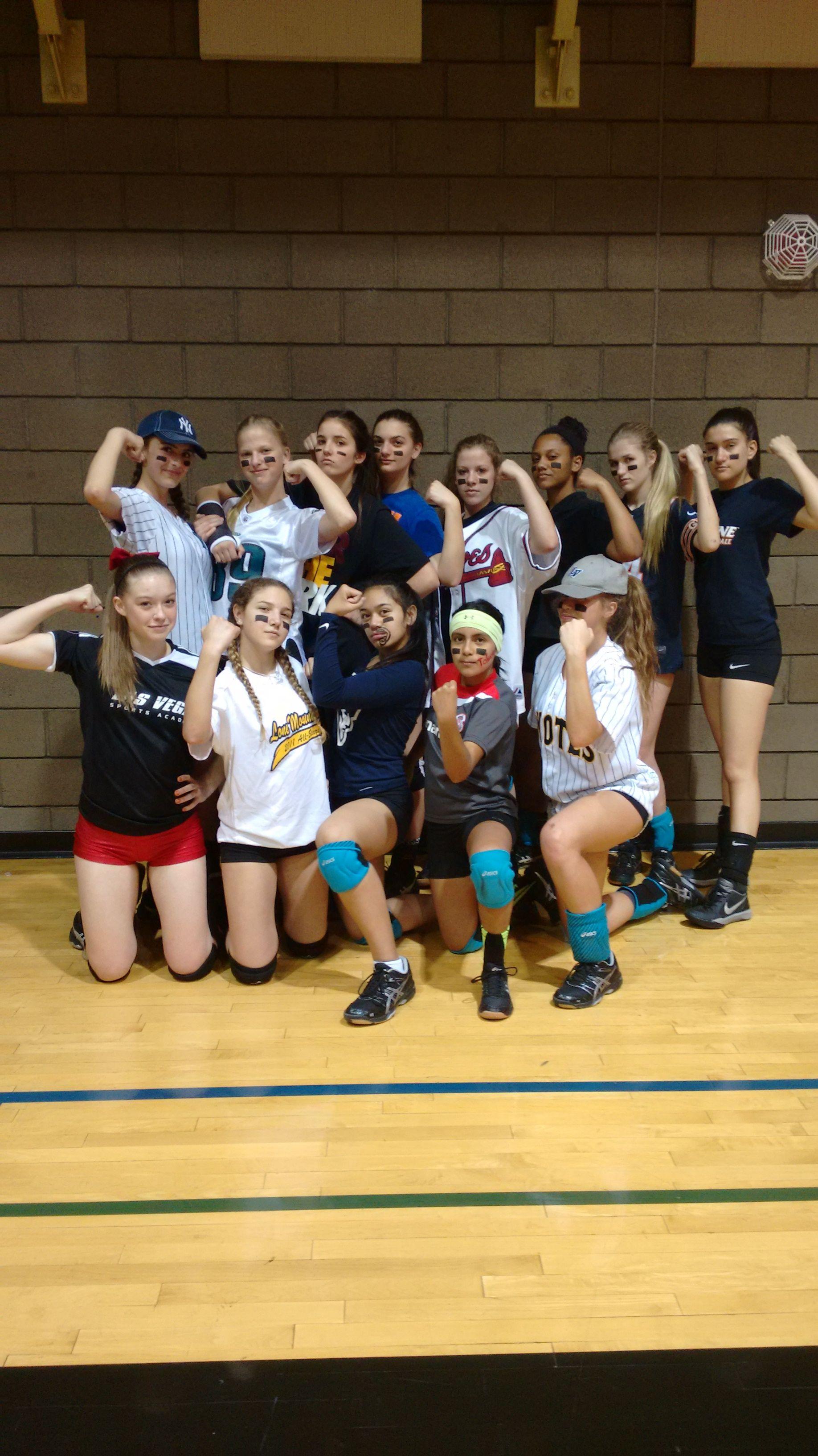 Panthers Elite 15s Day 2 Spirit Week Feb 22 24 2 Spirited Volleyball Sumo Wrestling