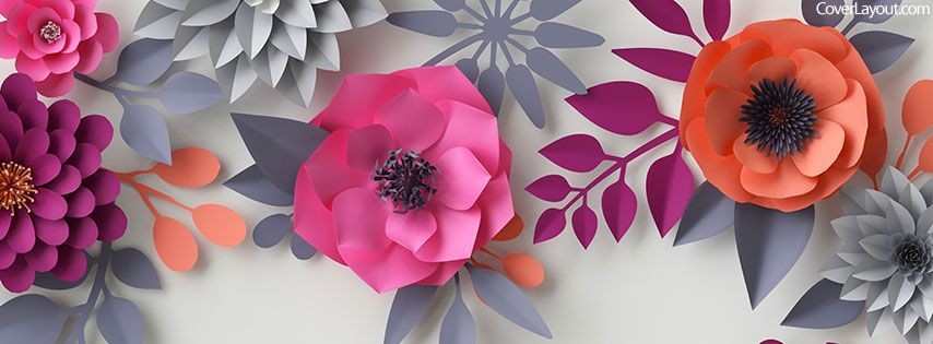Flowers Facebook Cover Coverlayout Com Flower Roses