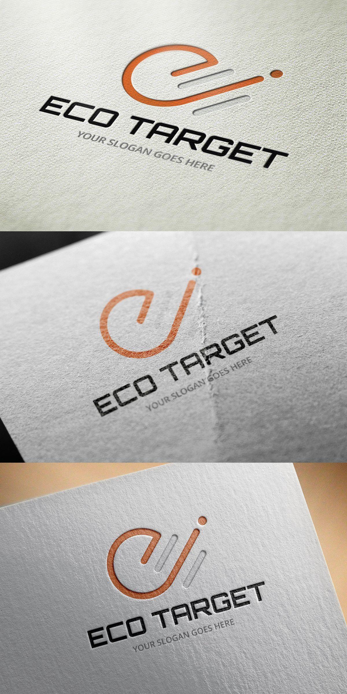 Eco Tar Logo Template Premium Design