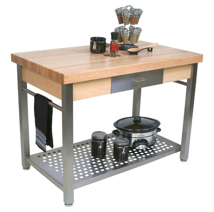 Kitchen Prep Table Butcher Block | http://manageditservicesatlanta ...