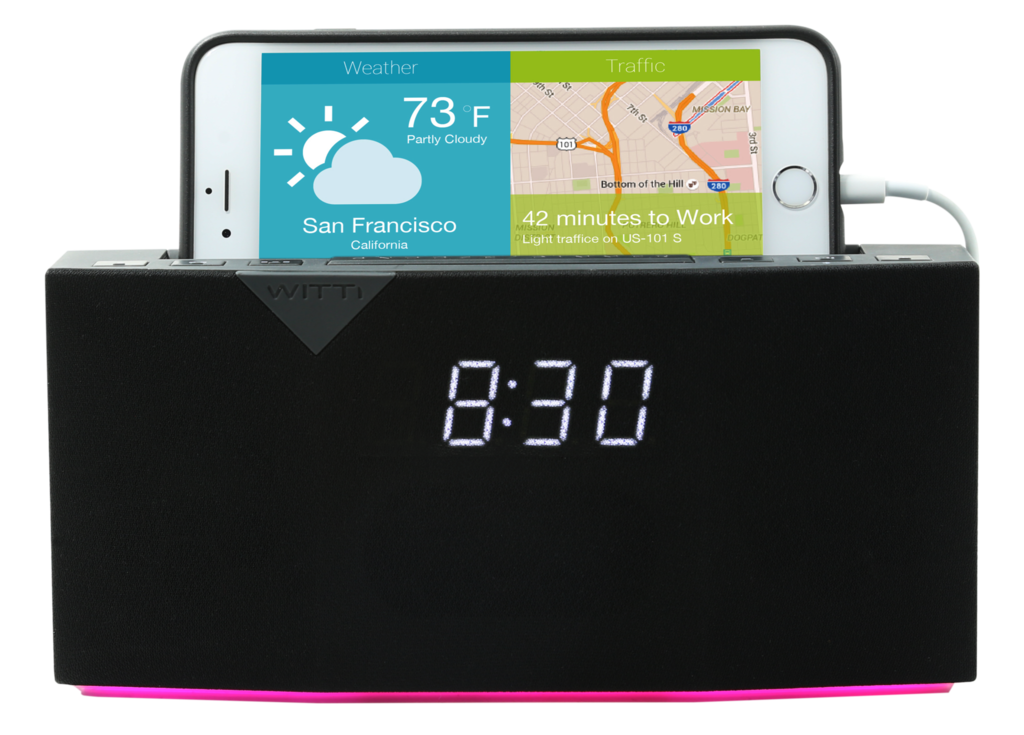 BEDDI - Smart Intelligent Alarm Clock - Weather and Traffic information