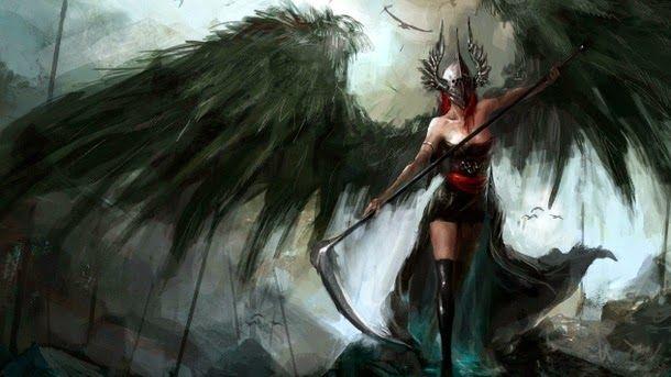 10 Deuses Da Morte Na Mitologia Mundial Anjo Guerreiro Asas De