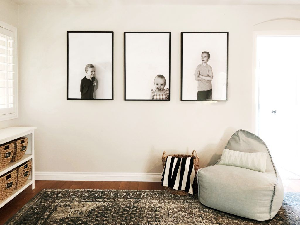 Affordable Large Scale Wall Portraits For 3 With Your Iphone