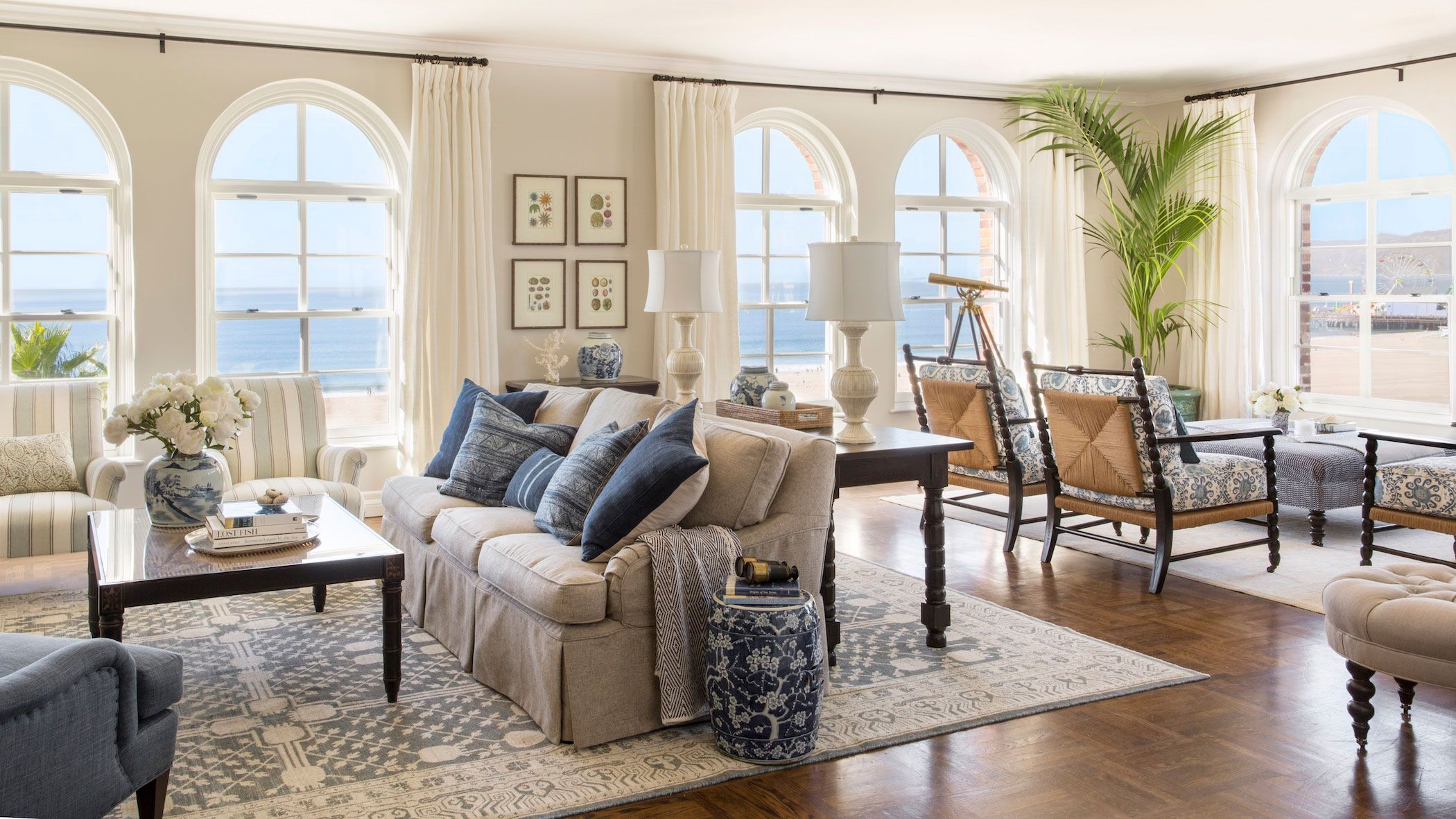 Ocean View Room Shutters on the Beach luxury hotel Santa