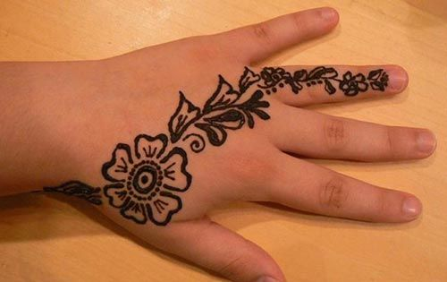 New And Simple Easy Kids Mehndi Designs 2017 2018 Henna Style For