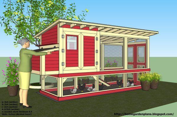 Fresh Diy Hen House Plans Free