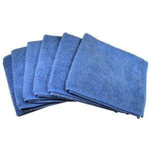 Cables Unlimted ACC-FIBER6 Ultra Absorbent Microfiber Cleaning Cloths (6 Pack) (Electronics)